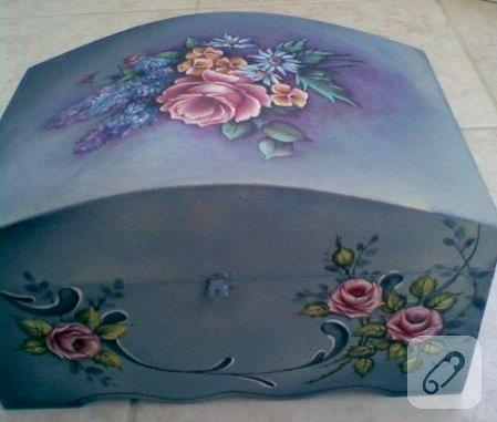 el boyaması kutu