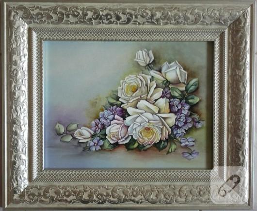 el boyaması tablo