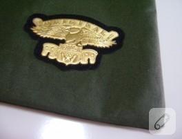 Kartal armalı askeri çanta
