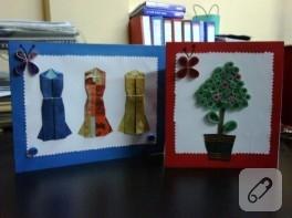 El yapımı kartlar, çocuk etkinlikleri