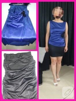 Eski elbiselerden yeni elbise yapalım!