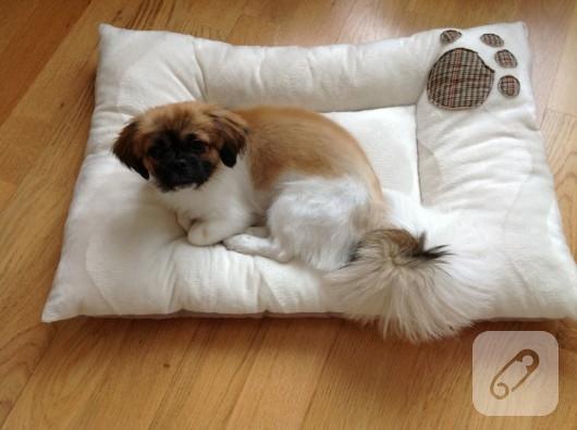 kedi köpek yatağı dikiş