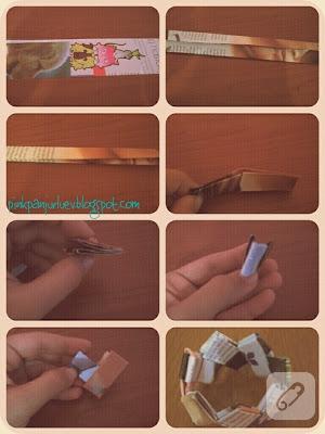 Kağıttan bileklik