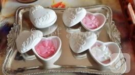 Minik kalp sabunlar
