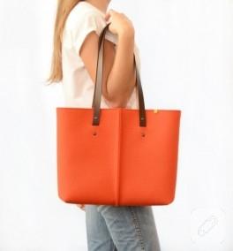 Pek güzel keçe çanta tasarımları