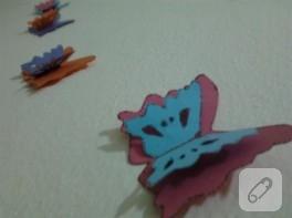 Uçuşan kelebekler duvar süsü