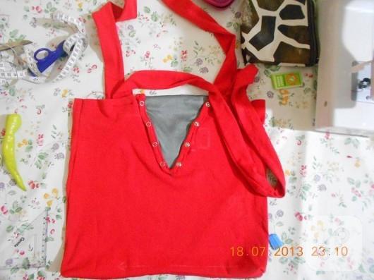 Tişörtten çanta yapımı