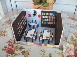 Hediye kutusu_minyatür kütüphane
