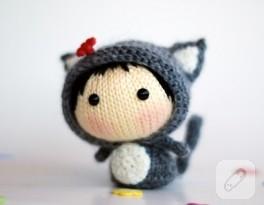 Gri, kız bebek kedisi