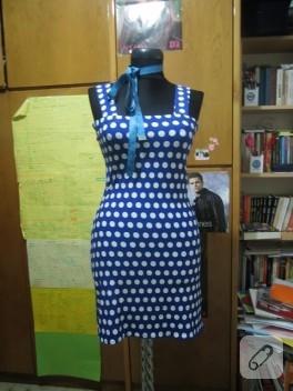 Puantiyeli yazlık elbise