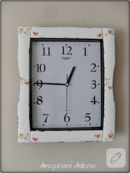 Eski plastik saatin dönüşümü, yenileme örnekleri