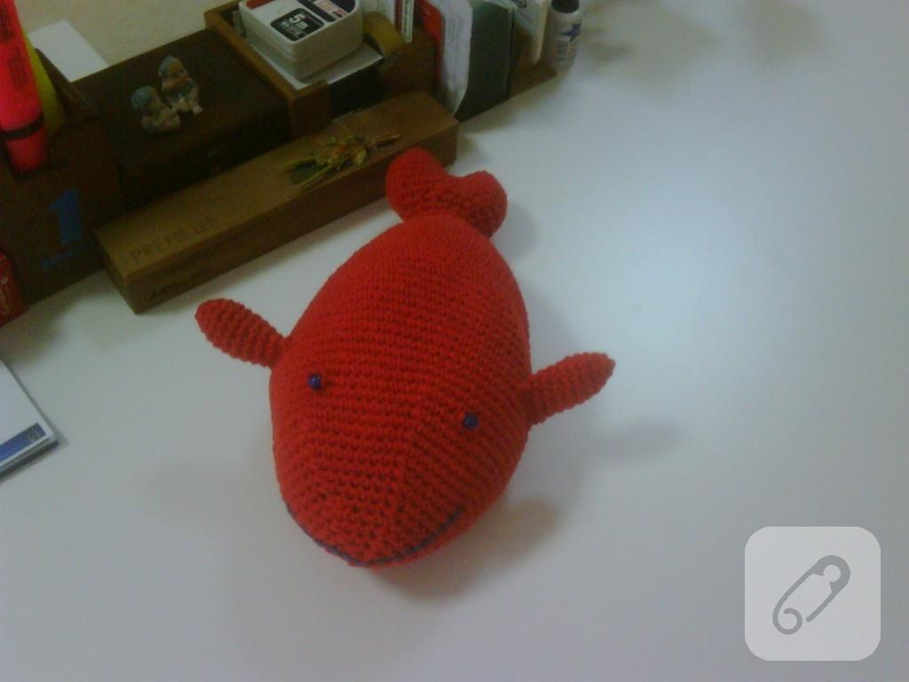 Leithygurumi: Amigurumi Baby Shark Keychain Free English Pattern ... | 768x1024