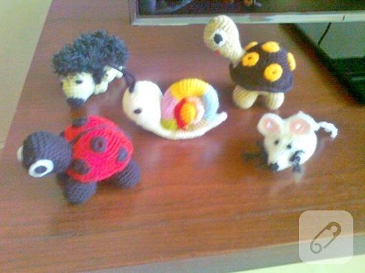 amigurumi hayvanlar