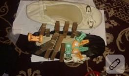 Deri ile ayakkabı yenileme/süsleme