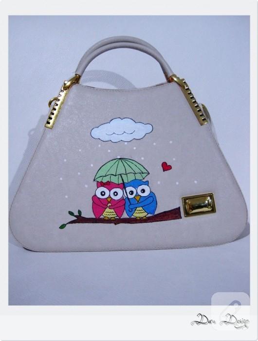 baykuşlu çanta