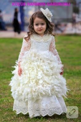 Çocuk kostümleri; melek elbisesi