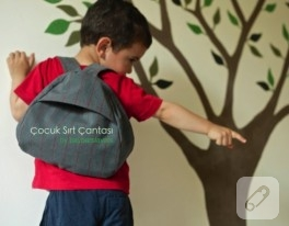 Çocuk sırt çantası