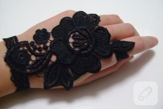 dantel eldiven modelleri