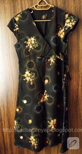 Dikiş; nostaljik elbise