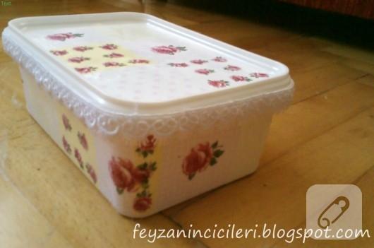 dondurma kutusu dekupaj