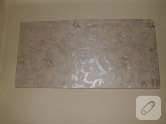 Duvar kağıdından tablo