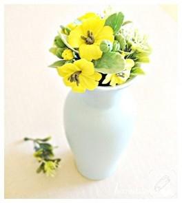 Fimo çiçek buketi