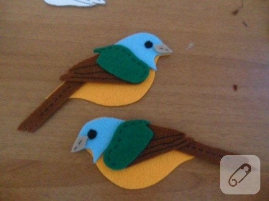 keçe kuş yapımı