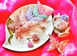 Rengarenk kelebek sabunlar