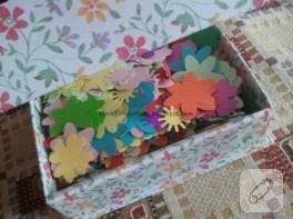 Mp3 kutsundan dekoratif kutu yapımı