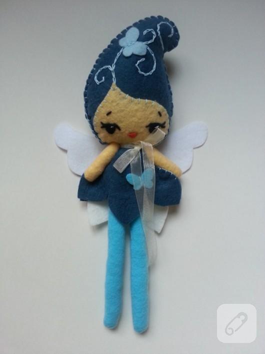 keçe oyuncak bebek