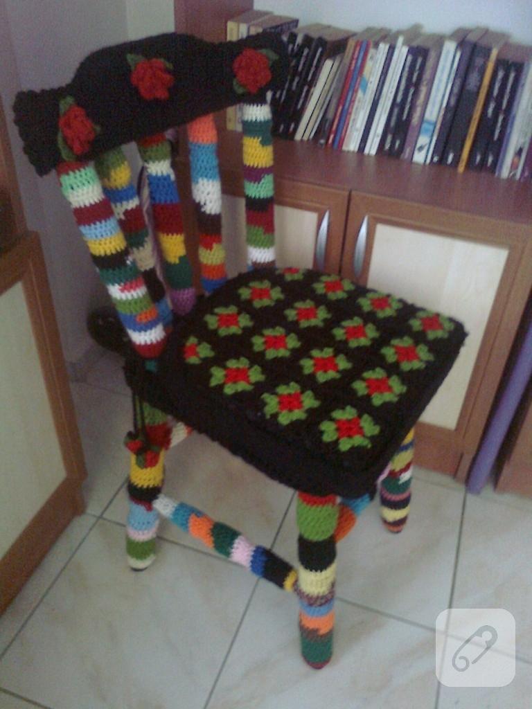 orgu-ile-sandalye-kaplama