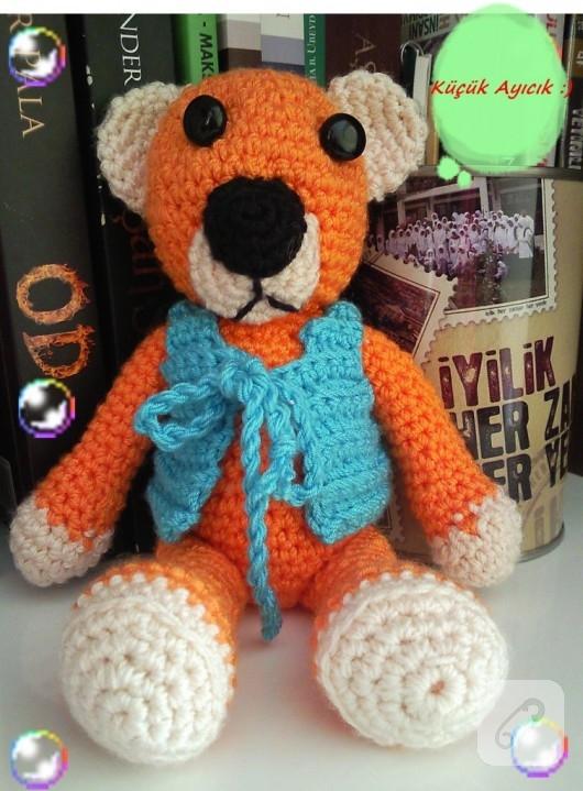örgü oyuncak ayı