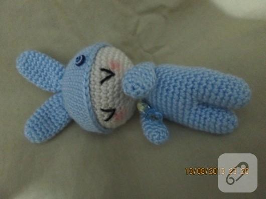 örgü oyuncak bebek