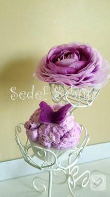 Şeker gibi dekoratif sabunlar