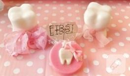 Diş sabunlarımız (sabun süsleme)