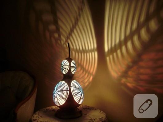 su kabağı lambaları