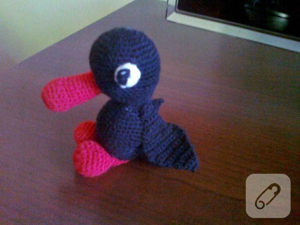 oyuncak ördek yapımı | 768x1024