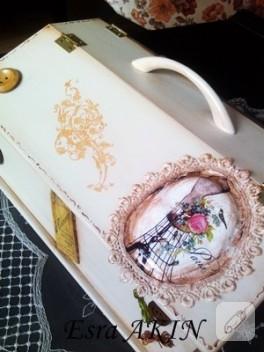Vintage dikiş kutusu