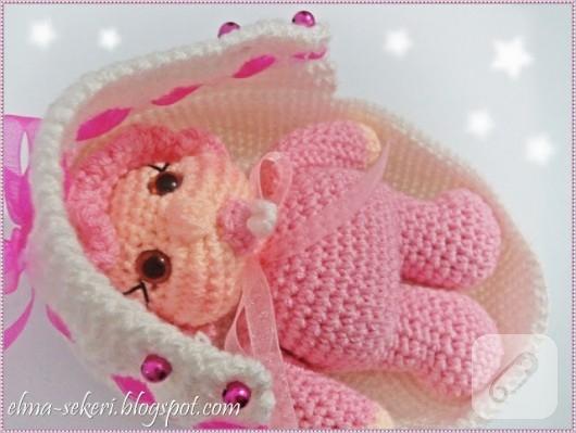 Amigurumi Bebek Tarifleri : Amigurumi emzikli bebek u marifet