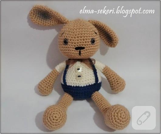 amigurumu oyuncak tavşan