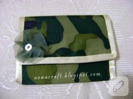 Kamuflaj kumaşla cüzdan yapımı (anlatımlı)
