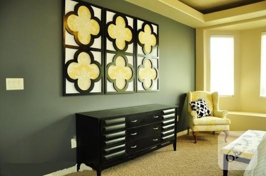 dekoratif duvar panosu