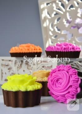 Cupcake sabun süsleme