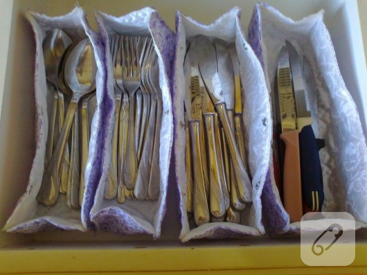Kumaş mutfak takımı