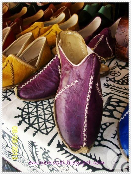 el yapımı ayakkabı yemeni