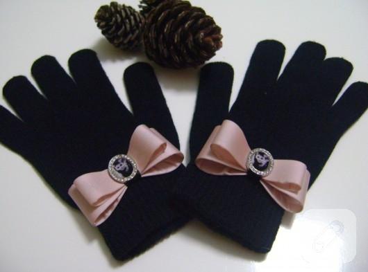 kışlık siyah eldiven