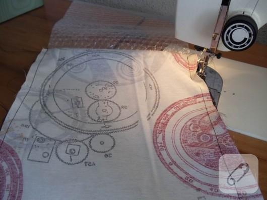 Kumaş kalemlik yapımı
