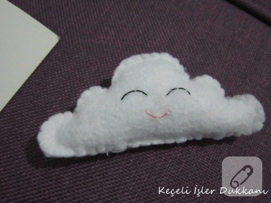 keçe bulut bebek şekeri