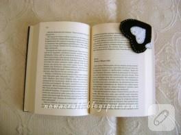 Keçeden kalp kitap ayracı yapımı (anlatımlı)