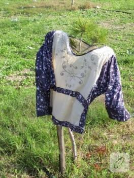 Kumaş değerlendirme; bluz dikişi
